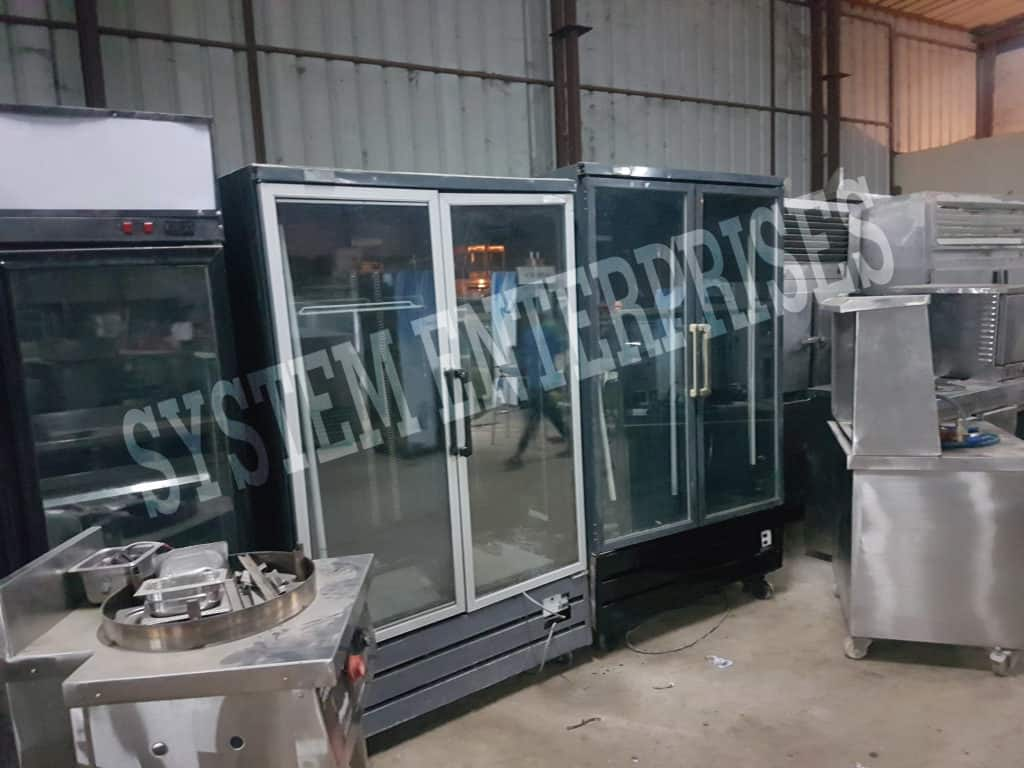 Used Glass Door Refrigerator