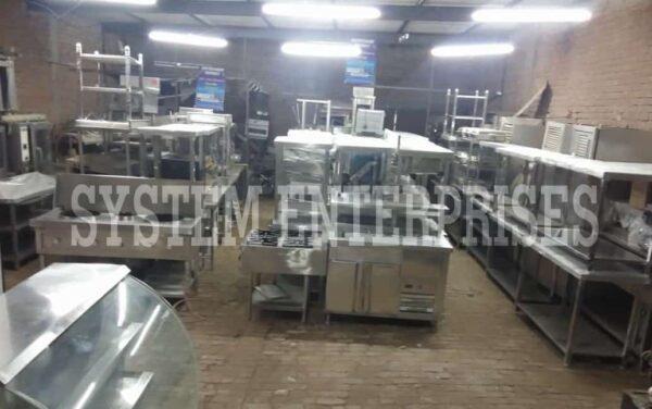 Industrial Canteen Kitchen Equipment